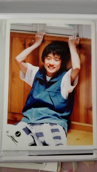 5■風間俊介 公式写真 Jr.名鑑6 1999年■