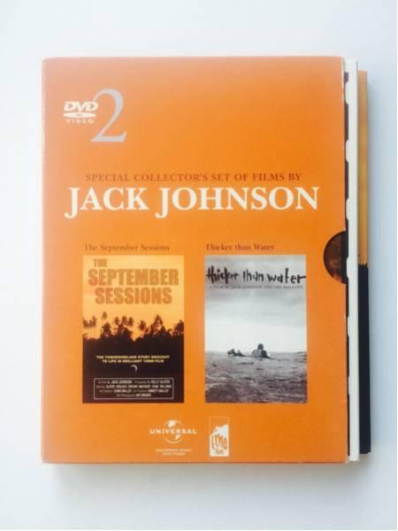 【DVD】ジャック・ジョンソン・フィルム-タンデム・セット JACK JOHNSON フジロック☆★_画像1