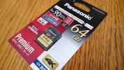 Panasonic SDXCメモリーカード64GB RP-SDUC64GJK 新品未開封