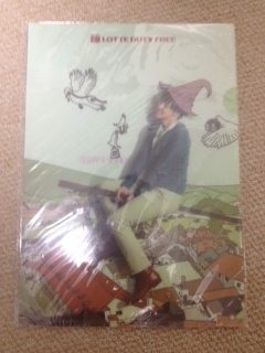 韓流 キムヒョンジュン A4クリアファイル2枚 ● ロッテホテル免税●送料120韓流