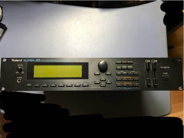 ★ROLAND★JD-990 音源モジュール JD-800音源内蔵★
