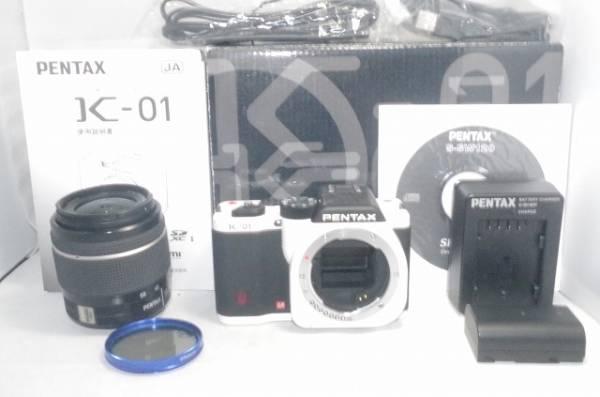 ◆◆美品 PENTAX ペンタックス K-01 18-55mm◆◆