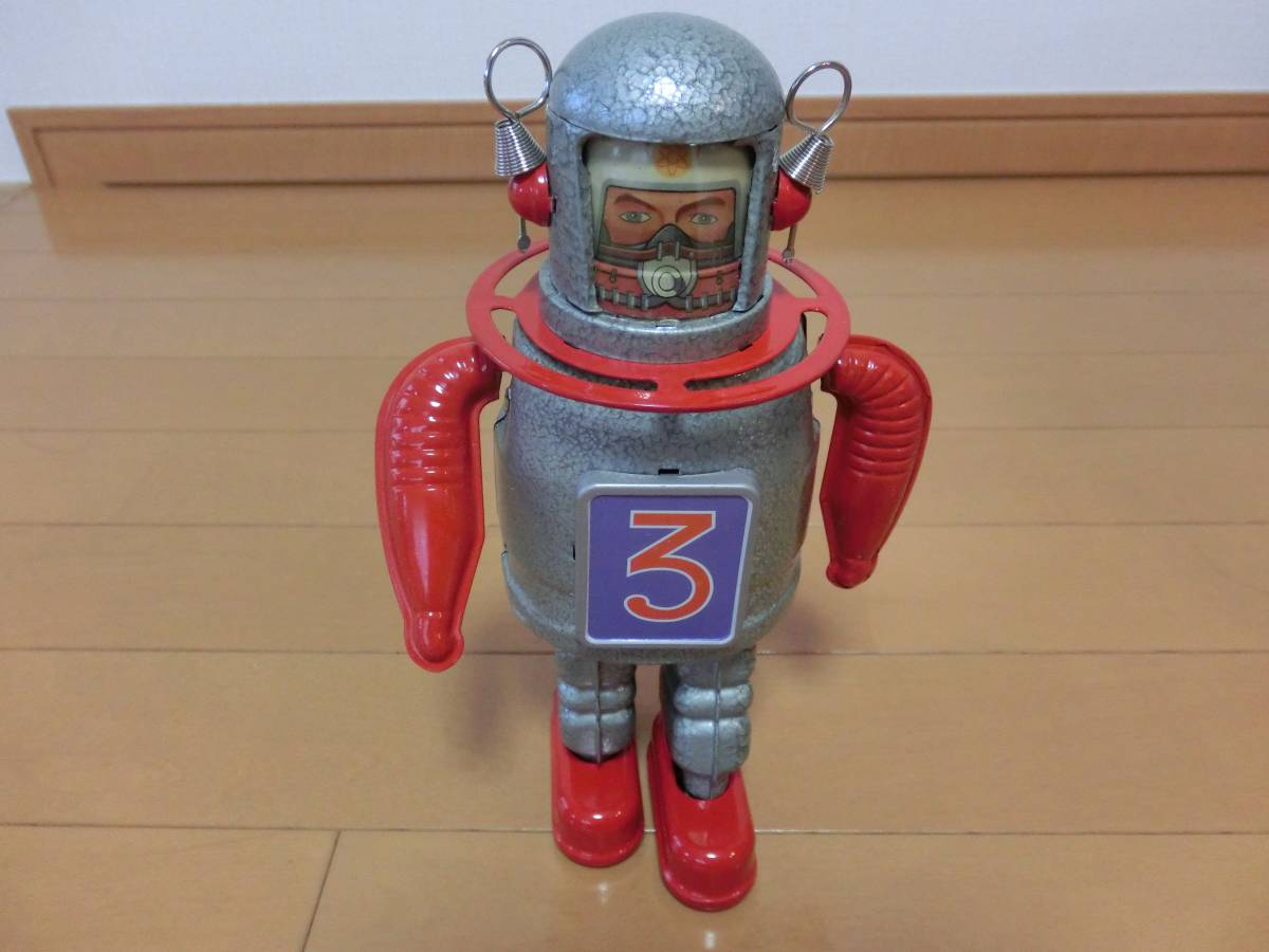 [ half century before buy. tin plate toy :ASTRO-SCOUT robot ]dodo-n. discharge.