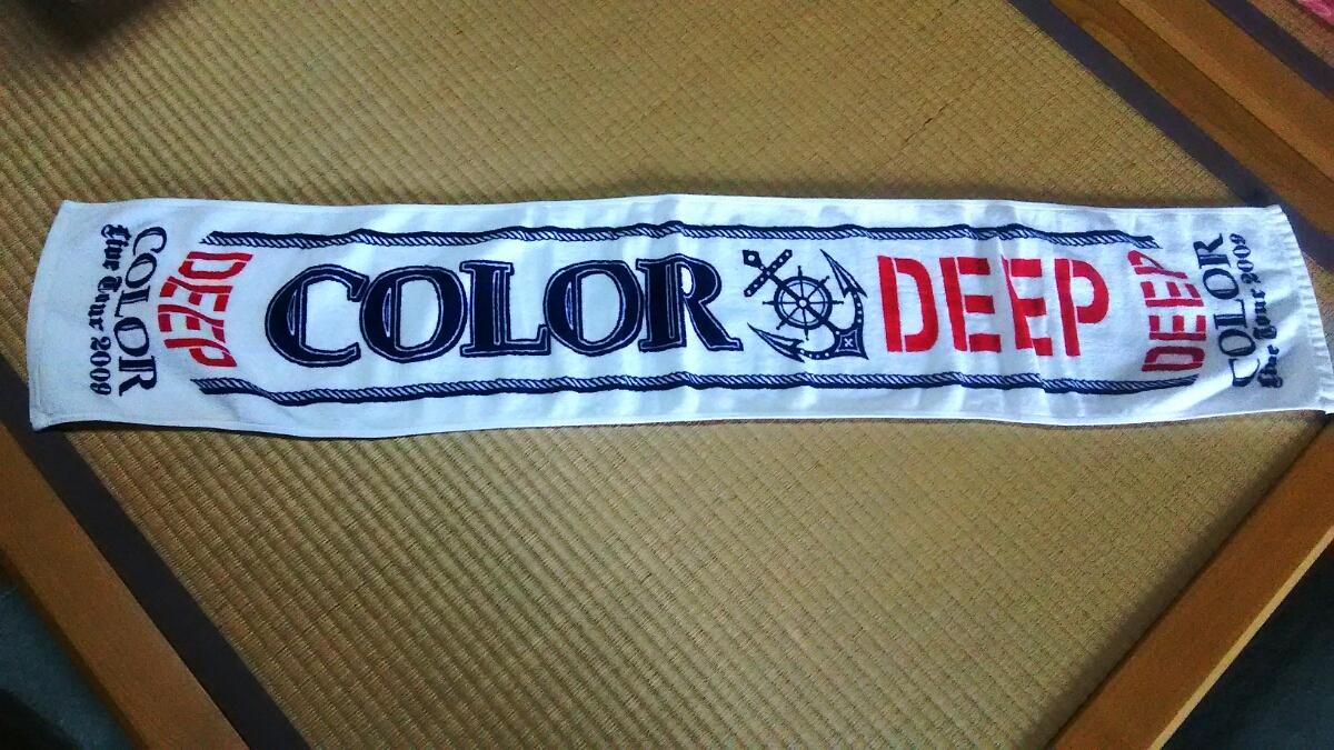 COLOR LIVE TOUR 2009 ~DEEP~ マフラータオル 美品