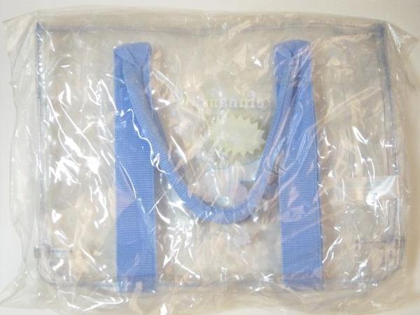 サンリオ 2007年製 シナモロール ビニールバッグ トートバッグ プールバッグ シナモン_画像2