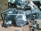 極上 AB27E 純正 実働 12V JUN88ボアエンジン モンキー ゴリラ 4ストミニ 武川マニホ ビックキャブ メインハーネス スイッチBOX