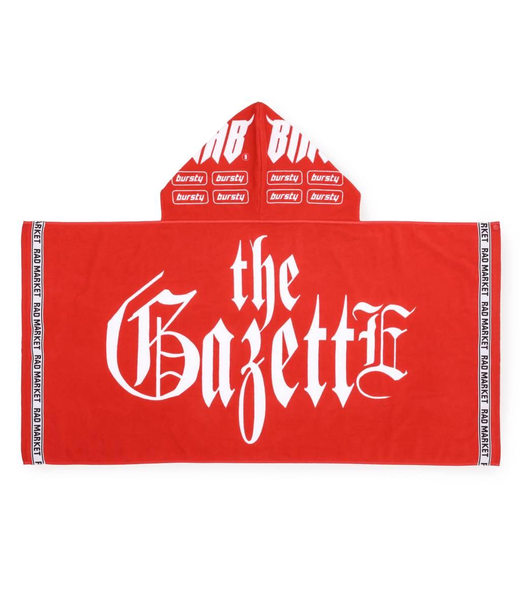 未開封 the GazettE フードタオル 富士急 ロゴ ガゼット グッズ タオル 新品 再販なし限定販売