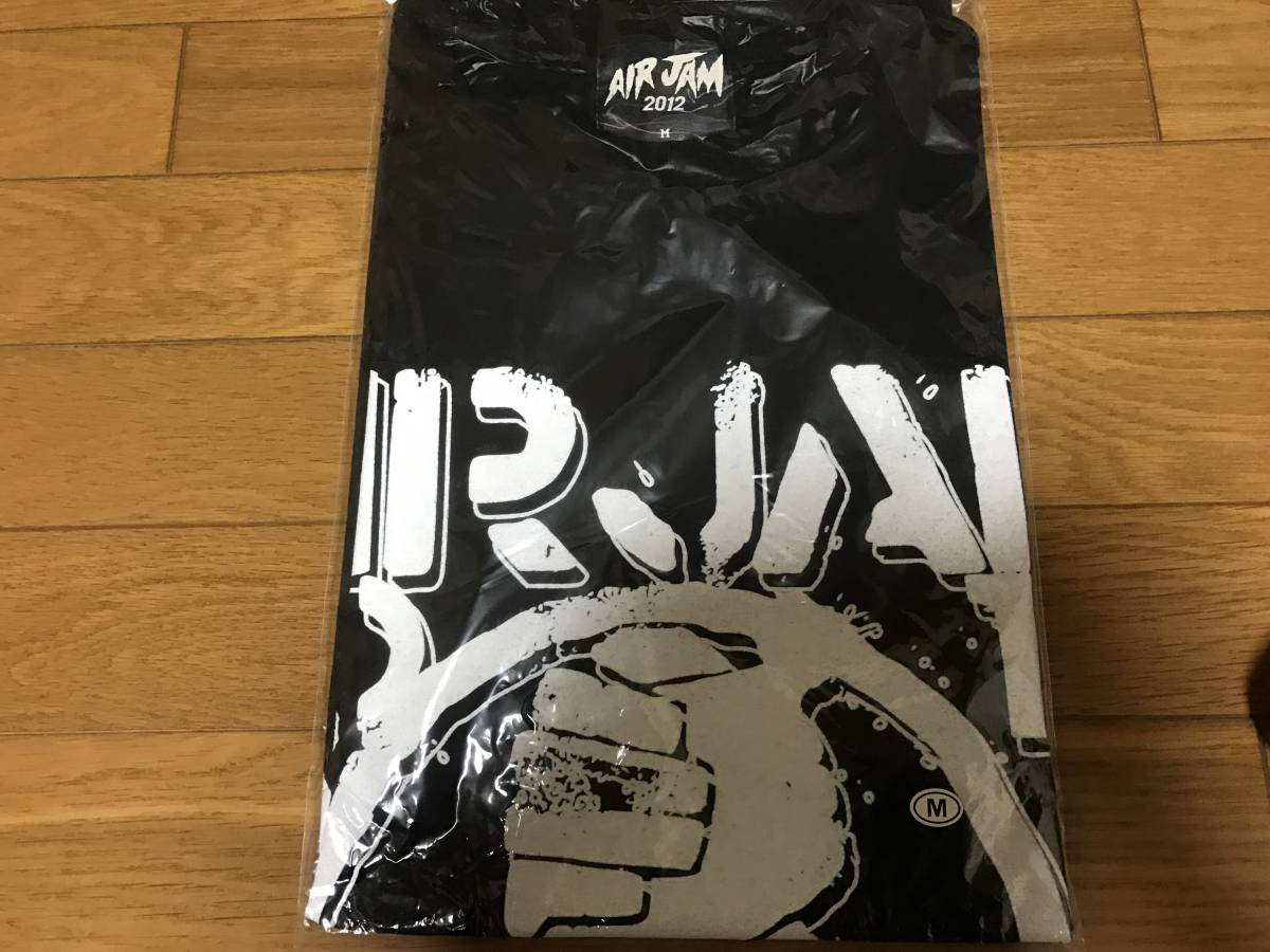 AIR JAM 2012 Tシャツ 黒 M 新品 ハイスタンダード ハイスタ ライブグッズの画像