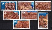 東ドイツ 70年 #1215-21(OH) フンボルト大学によるスーダン考古学調査
