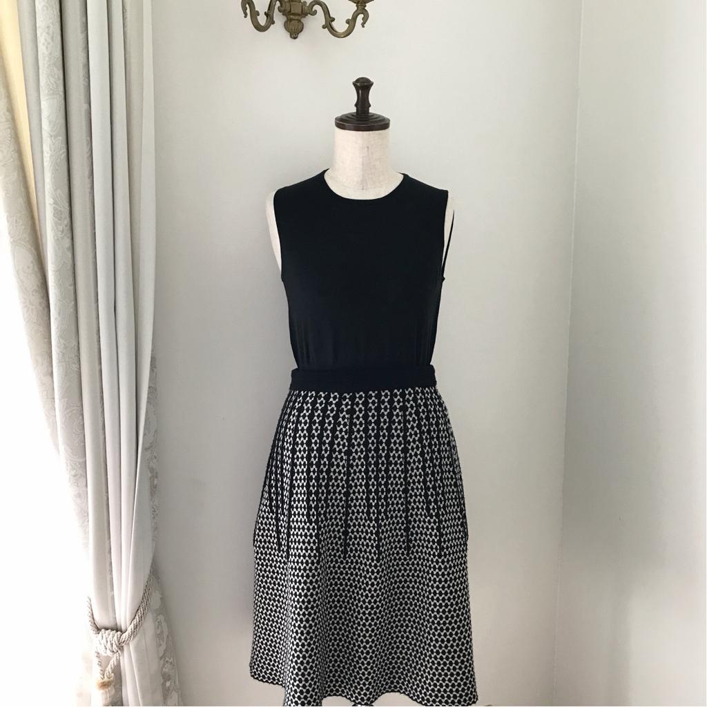 *マーレンダム*ニットスカート40サイズ 昨年物 Aライン