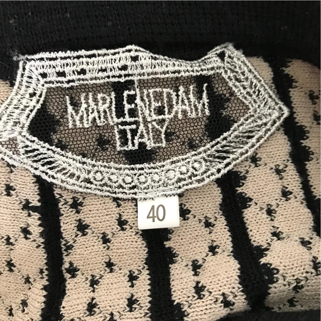 *マーレンダム*ニットスカート40サイズ 昨年物 Aライン_画像3