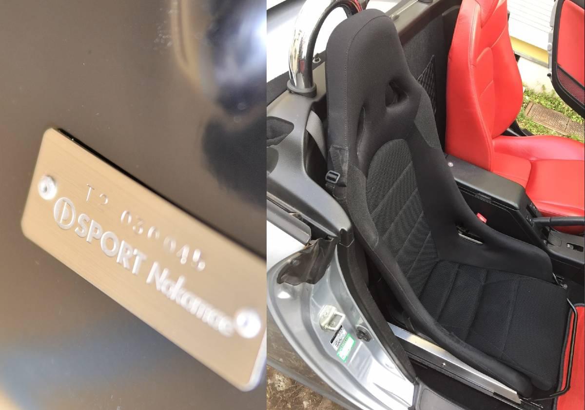 ★☆Dsport コペンL880専用 フルバケットシート 専用シートレール&シートベルトバックル付_画像3