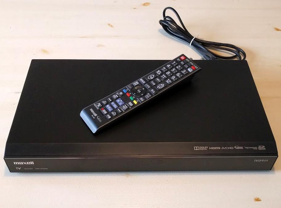 ★マクセル maxell Wチューナー搭載 1TB内蔵ハードディスク+IVDRレコーダー VDR-R3000 (HDDハードディスクレコーダー)