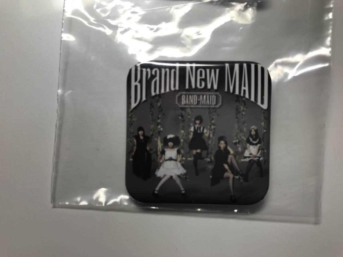 缶バッジ BAND-MAID Brand New MAID CD購入特典 未使用 バンドメイド