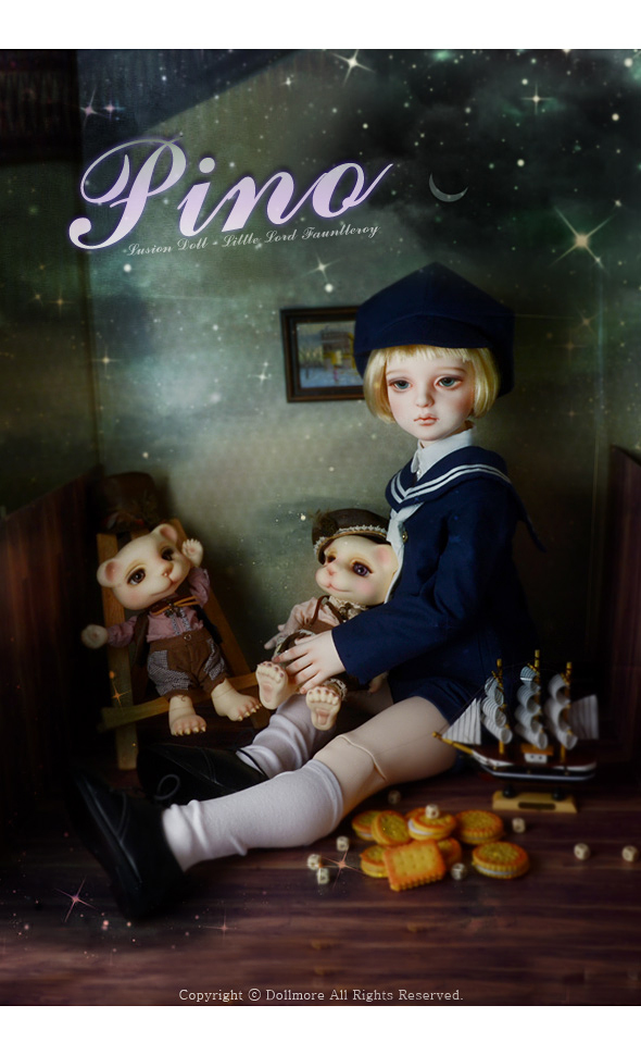 送料無料[Dollmore] 球体関節人形 Lusion Boy - Little Lord Fauntleroy Pino - LE10_画像2