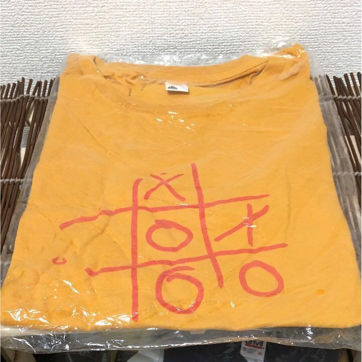 新品 RADWIMPS Tシャツ 実況生中継 ライブグッズの画像