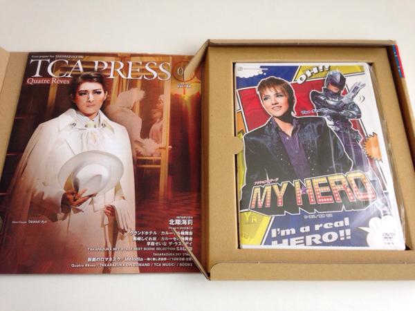 DVD『MY HERO』美品 宝塚花組 芹香 斗亜 ◇送料無料◇
