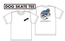YOGEE NEW WAVES DOG SKATE Tシャツ(M)