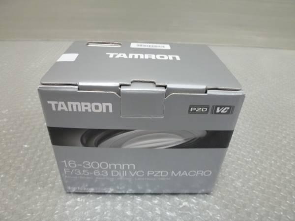タムロン 16-300mm F/3.5-6.3 Di II VC PZD MACRO ニコン用 新品!売り切り!超広角~超望遠 B016 マルチレンズ メーカー保証付き