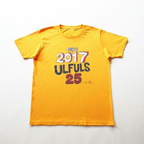 ウルフルズ 2017ツアー Tシャツ 限定ピンバッチ付き ライブグッズの画像