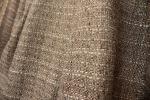 [川島織物セルコン](まとめて2枚セット)カッコイイざっくり織りのモダン ダークカーテン生地★大きめ布地