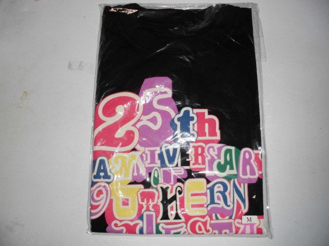サザンオールスターズ Tシャツ 25th Anniversary 黒 未開封