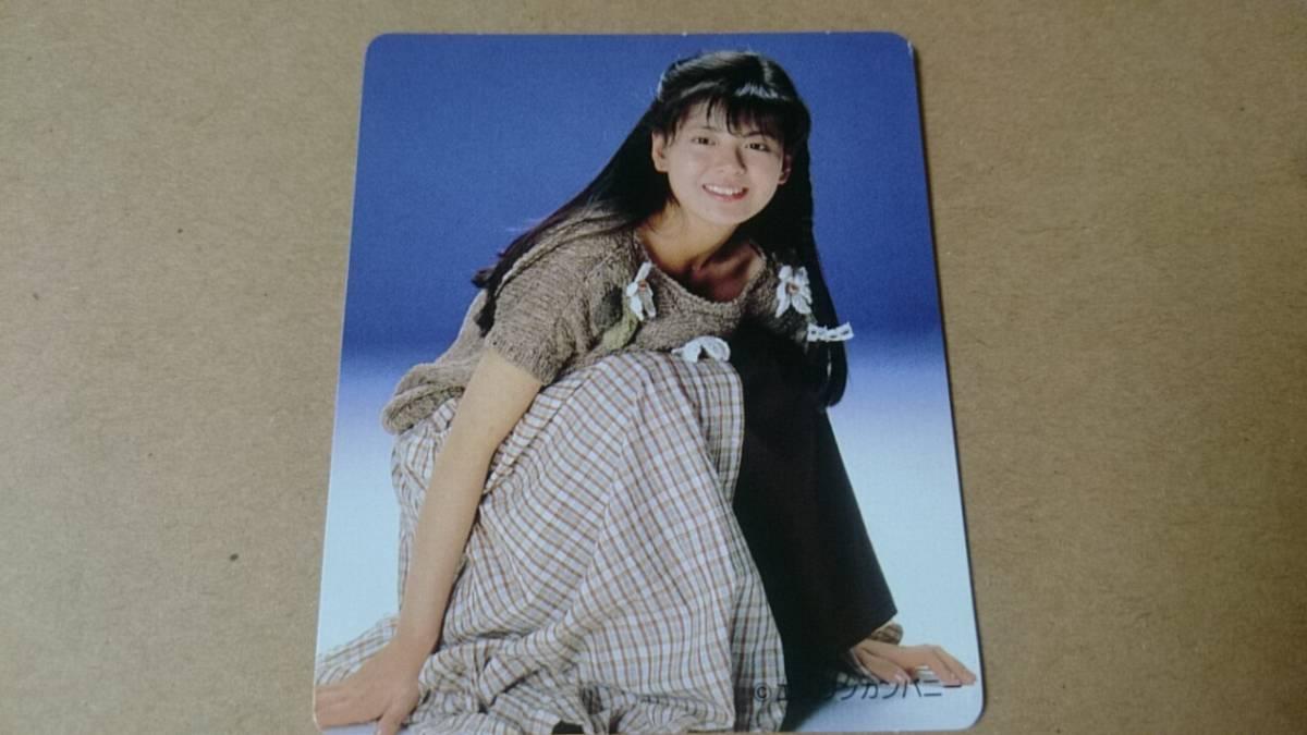 南野陽子カードa グッズの画像