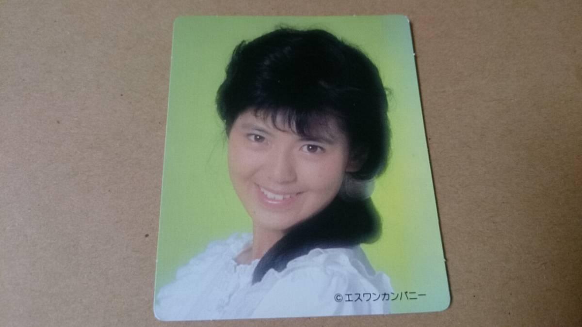 南野陽子カードc グッズの画像