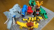 【知育玩具】ラキュー組み立てセット 動物編(LaQ 全1,1