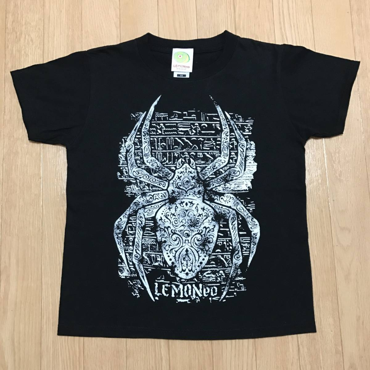 ■LEMONed hide X JAPAN■Tシャツ■黒 ブラック■レモネード ヒデ ジルチ cd dvd