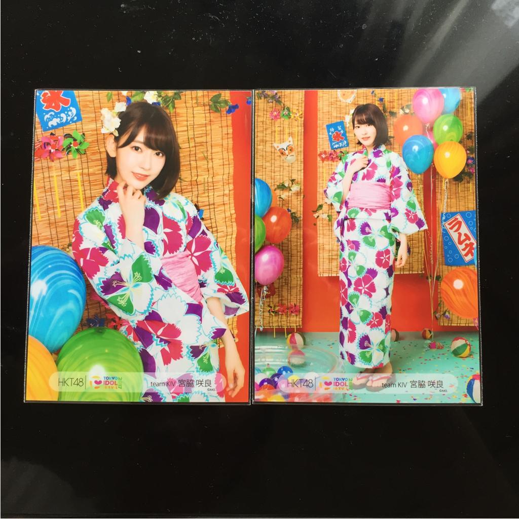 HKT48 宮脇咲良 TOKYO IDOL FESTIVAL 2017 生写真 コンプ 東京アイドルフェスティバル TIF