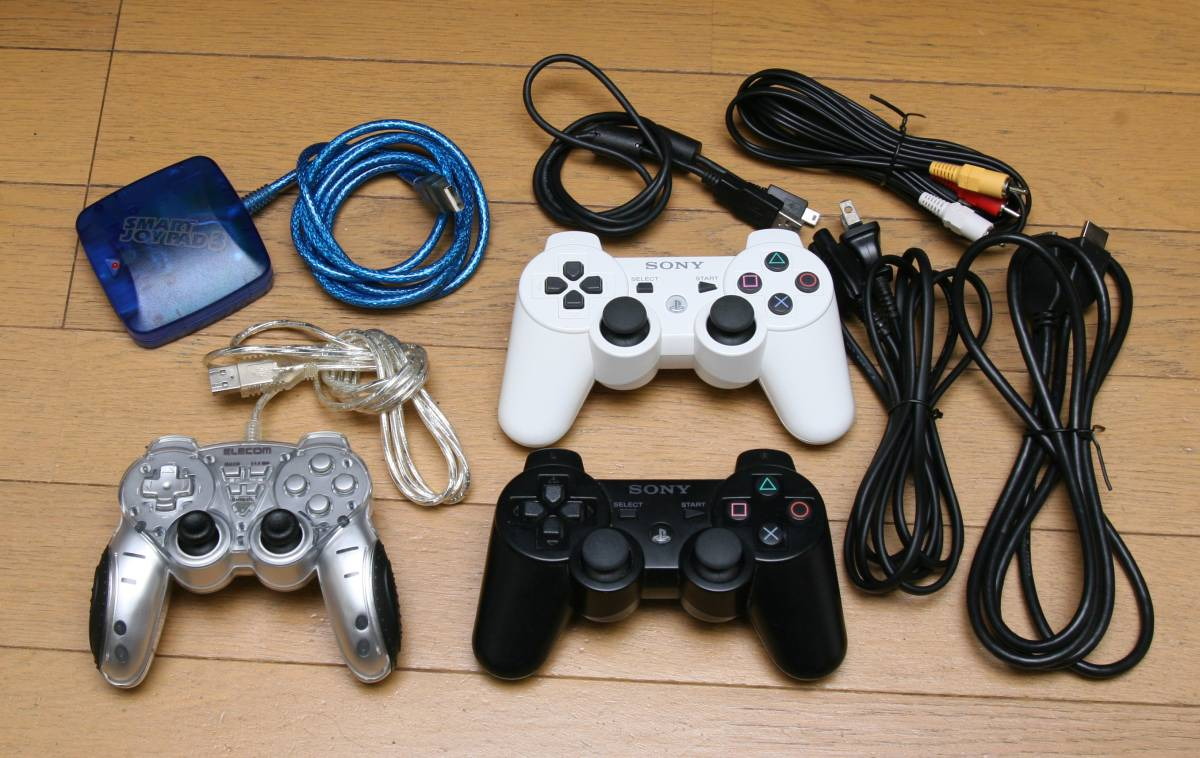 ◆SONY PS3 120GB CECH-2000A コントローラー3個その他付き_画像3