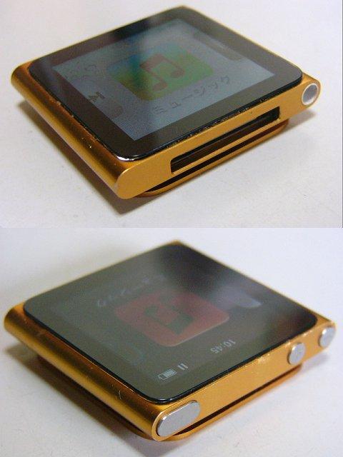 iPod nano MC691J 第6世代 8GB オレンジ バッテリー良好_画像2