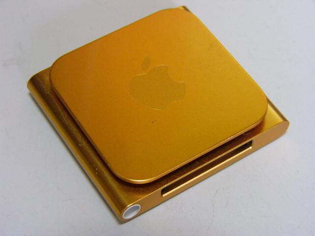 iPod nano MC691J 第6世代 8GB オレンジ バッテリー良好_画像3