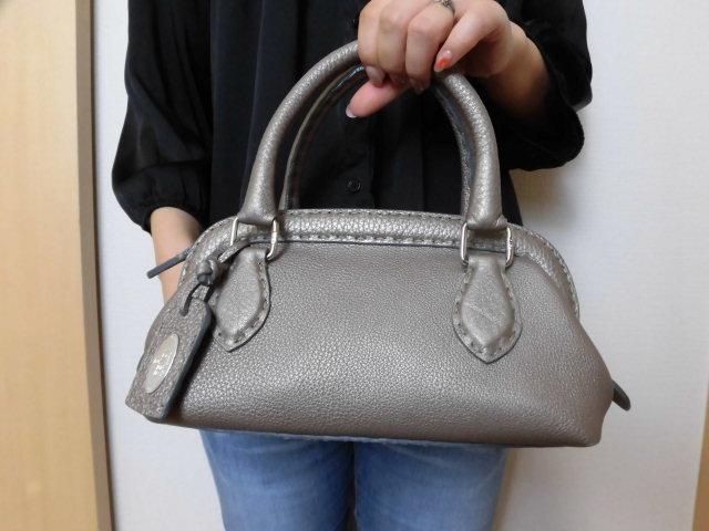 美品◆高級本物◆フェンディ バッグ セレリア ◆14828