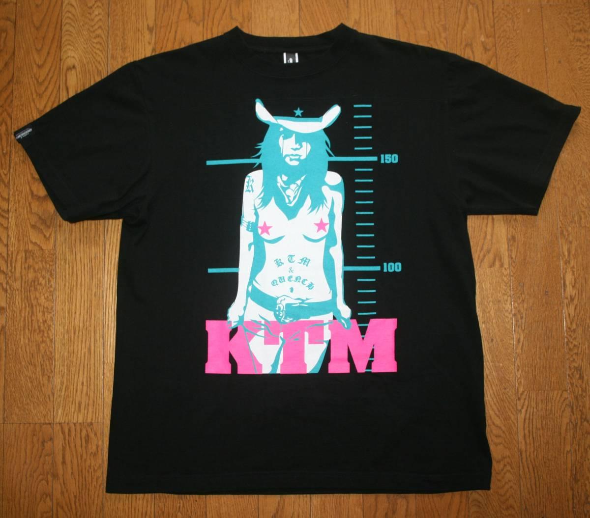 ケツメイシ KTM KTM×QUENCH クエンチ コラボ 新品未使用 Tシャツ