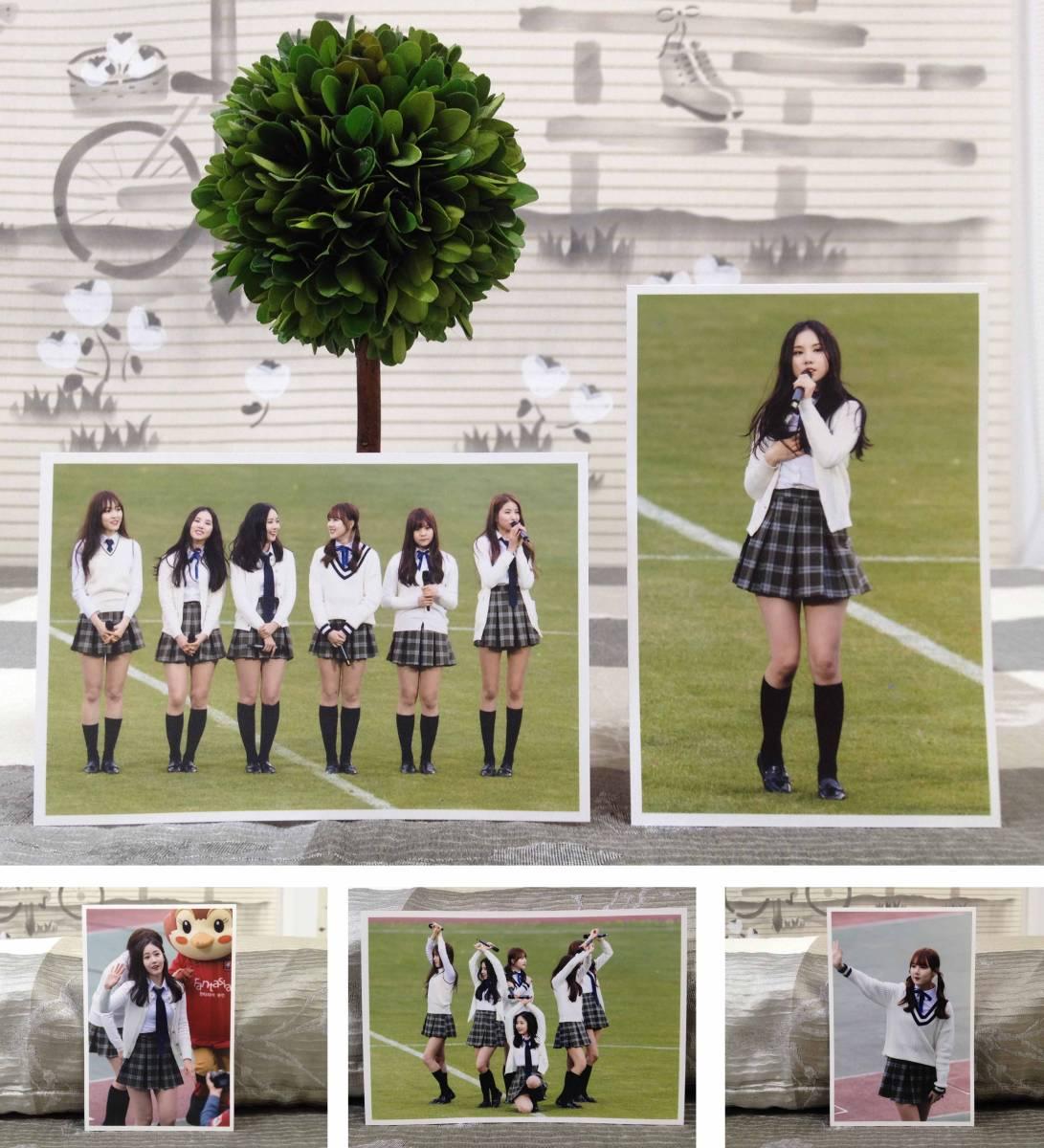 GFRIEND★ヨジャチング★2016.4月 K-League開幕戦 お祝舞台★FC生写真30枚