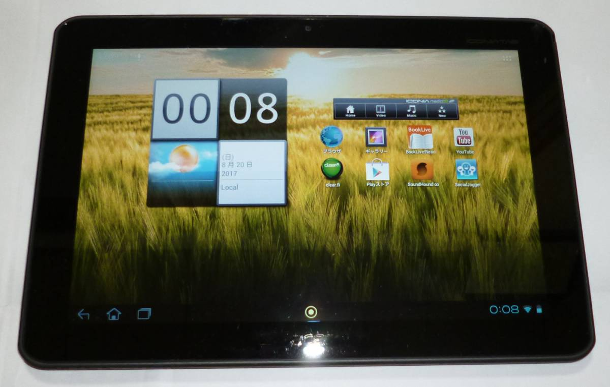 Acer ICONIA TAB A200 11.1インチ Android タブレット 中古