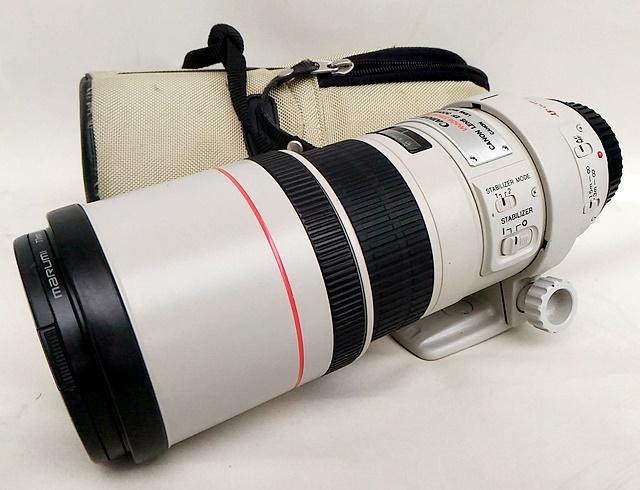 Canon キャノン 単焦点望遠レンズ EF300mm F4L IS USM フルサイズ対応