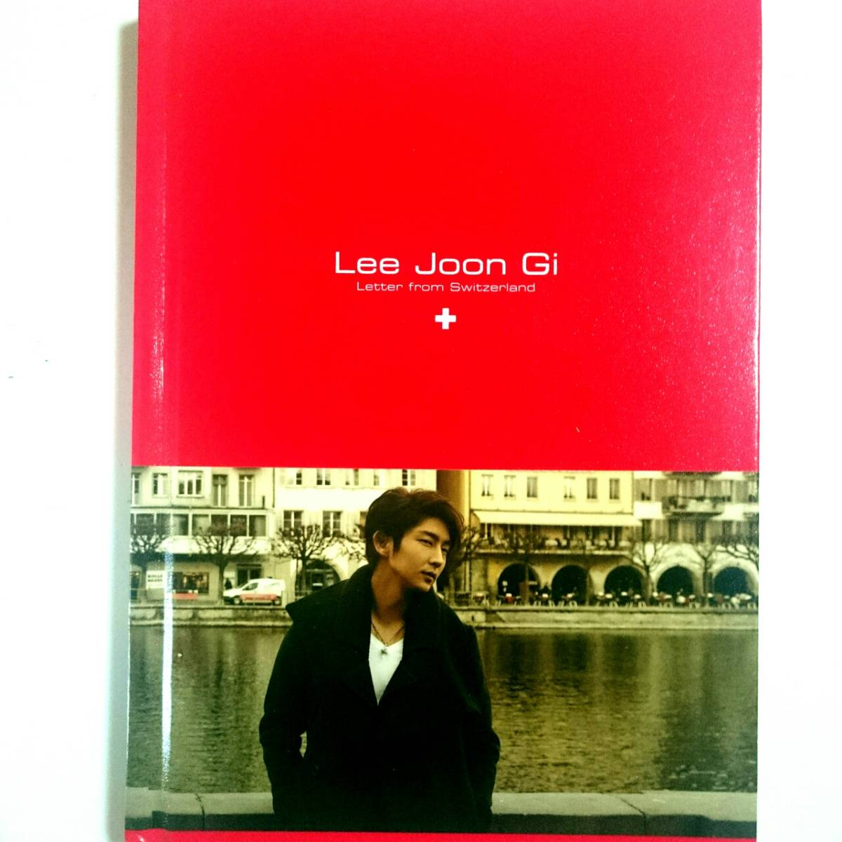 イ・ジュンギ Lee Joon Gi Letter from Switzerland ノート手帳
