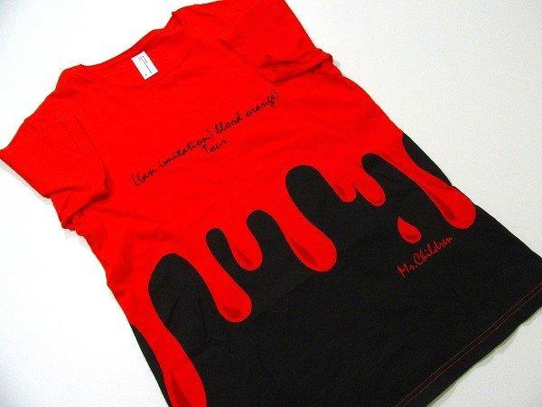f1874n 美品★Mr.Children (an imitation)blood orange Tour TシャツM/ミスチルライブグッズ夏フェス