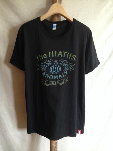 【the HIATUS】Tシャツ ANOMALY IRON GEAR RECORDS サイズL 黒