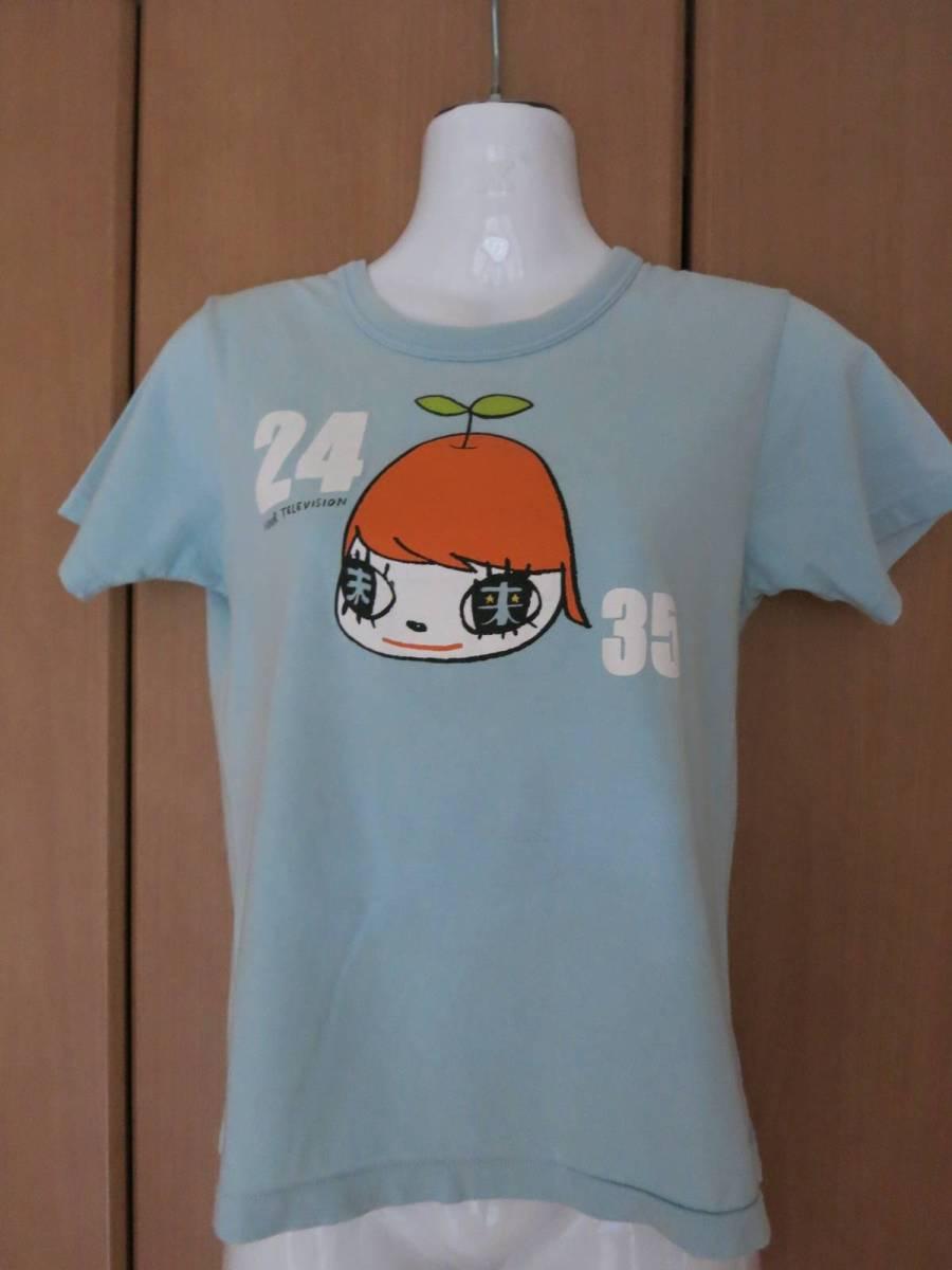 ◆嵐 大野智 ×奈良美智 コラボ 24時間テレビ 2012 Tシャツ 水色 SS