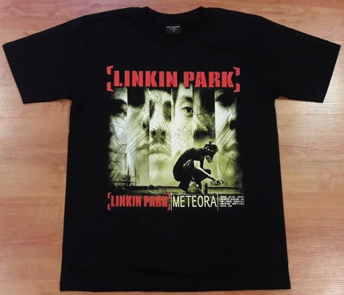 【Tシャツ】リンキン・パーク[Linkin Park]☆[METEORA]☆黒Mサイズ