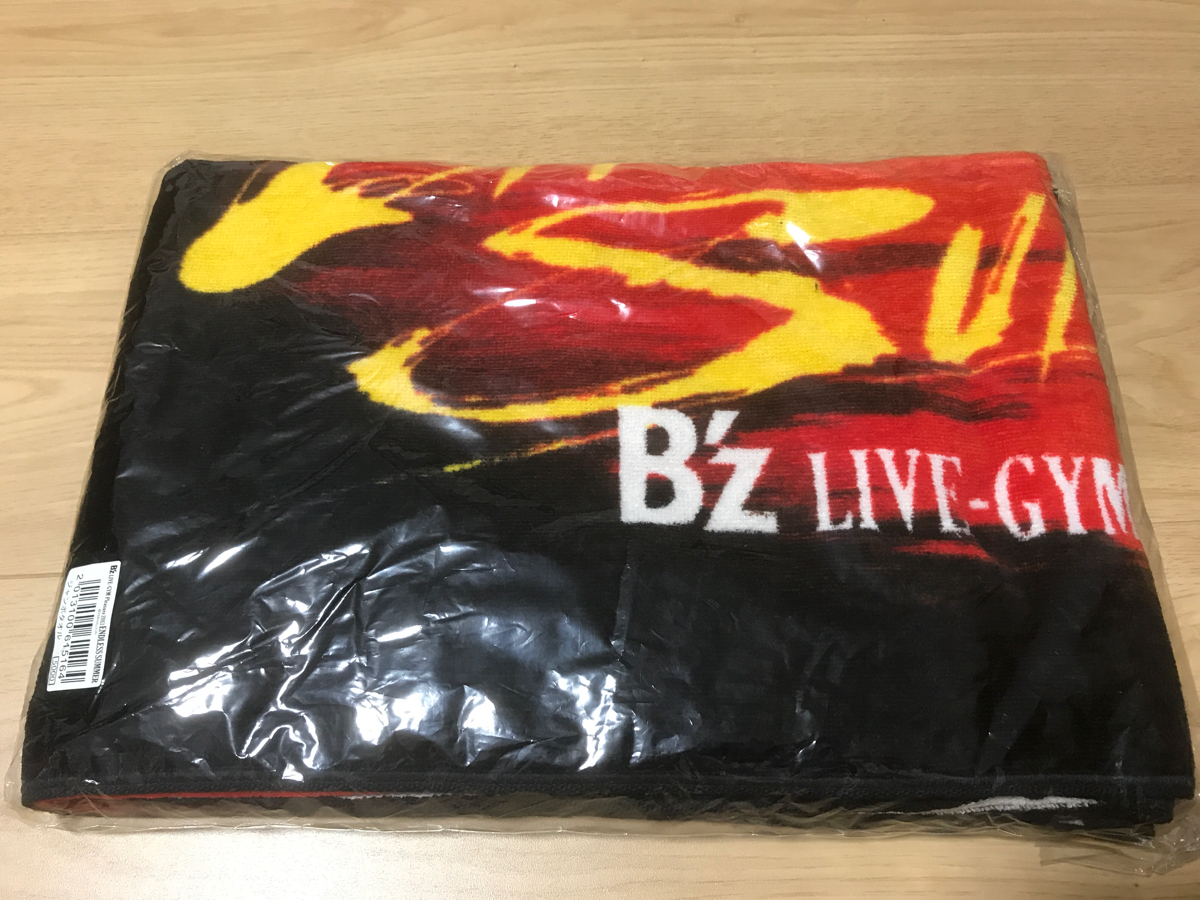 B'z LIVE-GYM pleasure2013 ENDLESS SUMMER ツアージャンボタオル 新品