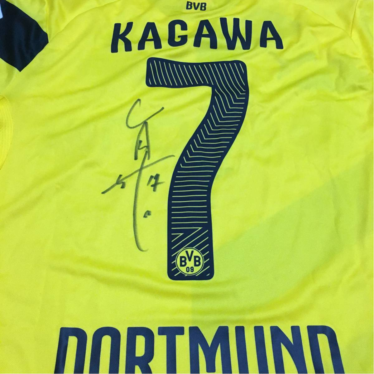 香川選手 ドルトムント サイン入りユニフォーム 支給品