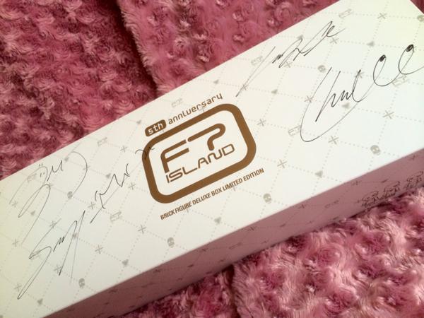 【即決】FTISLAND/5周年記念 公式ブリック/直筆サイン入り ライブグッズの画像