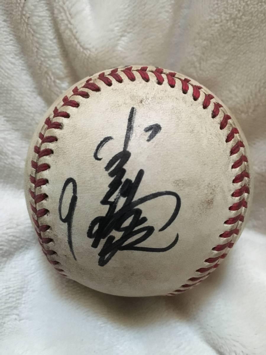 小久保裕紀 NPB実使用球直筆サイン 福岡ソフトバンクホークス 巨人 ジャイアンツ グッズの画像