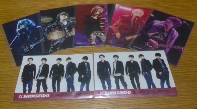FTISLAND「X'mas Live 2011 Winter's Night @YOKOHAMA ARENA」初回封入ポストカード全5枚セット+特典ポストカード ライブグッズの画像
