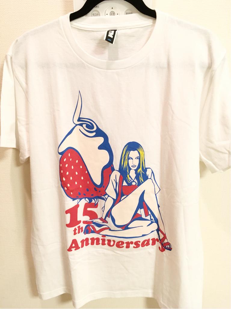 ケツメイシ Tシャツ 新品 未使用 サイズL 2016 15周年 ライブグッズの画像